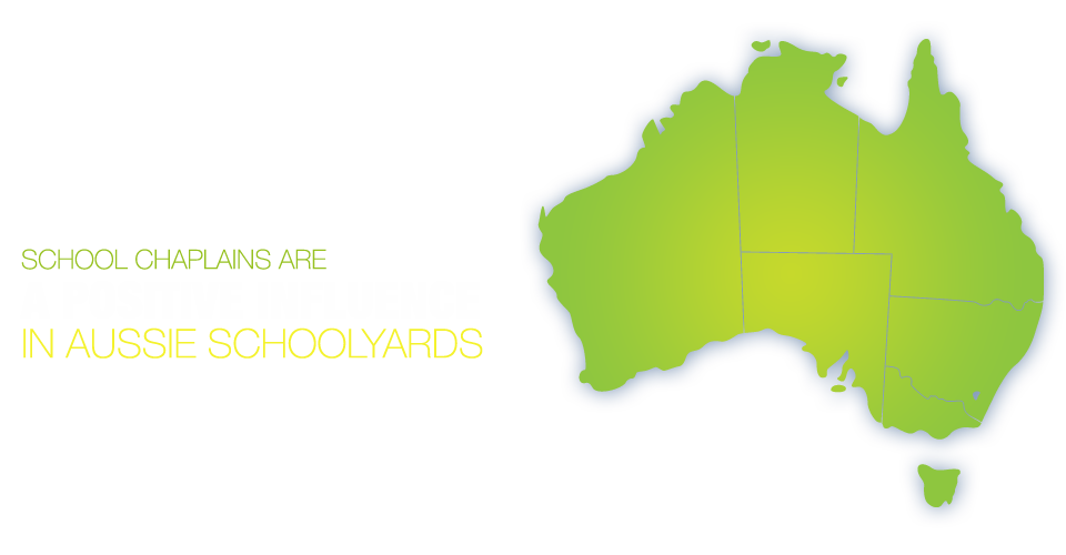 School Chaplains are a positive influence in aussie schoolyards!